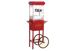 LSBTC-PC08001SE Mobile Popcorn Machine