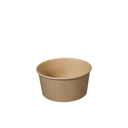 Paper Bowl Brown Kraft 500ml 112mm Diameter for Hot And Cold Food