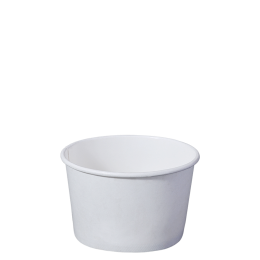 Paper Bowl White Kraft 520ml for Hot and Cold Food