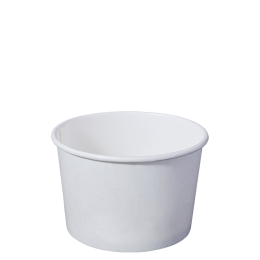 Paper Bowl White Kraft 1000ml for Hot and Cold Food